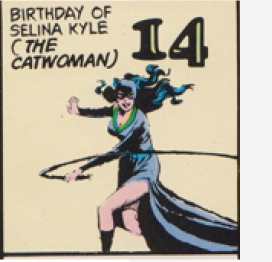 catwomans birthday!
